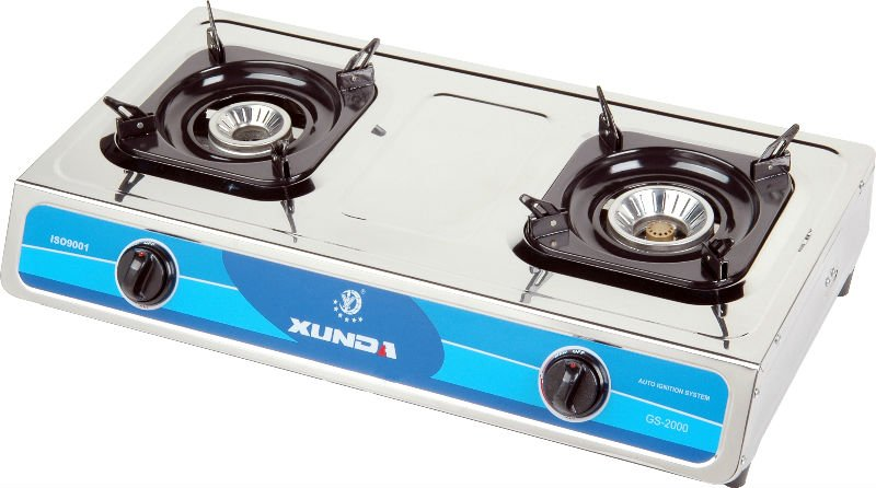 2 Burner Gas Stove Table Cooker