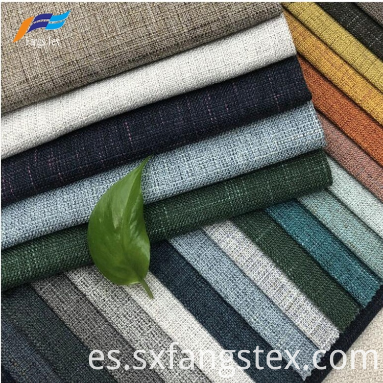 2019 New Design Eco-friendly Upholstery Linen Sofa Fabric