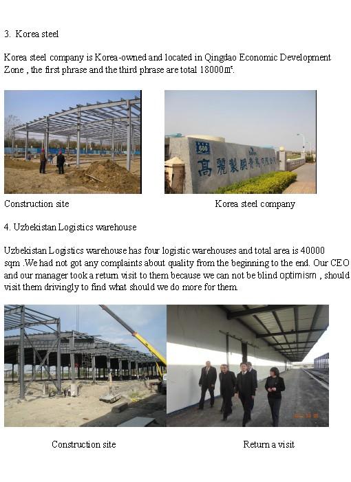 Prefabricated Steel Structure Frame Workshop Building (KXD-SSW9)
