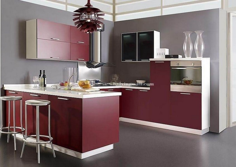 Glossy UV Kitchen Cupbaord (for free shipping)