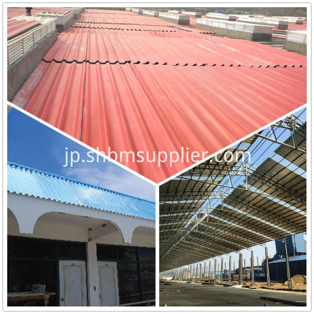 Heat Resistant MgO Roofing Sheets