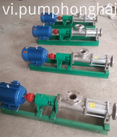 Sanitary Grade Single Screw Pump for Juice