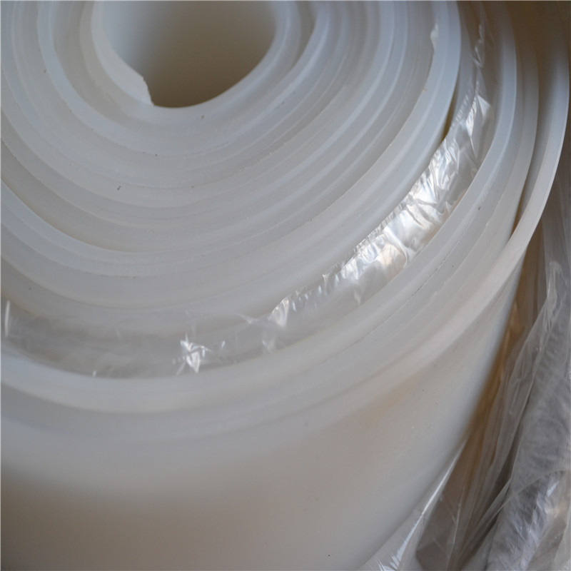 Transparent White High Temperature Silicone Rubber Sheet