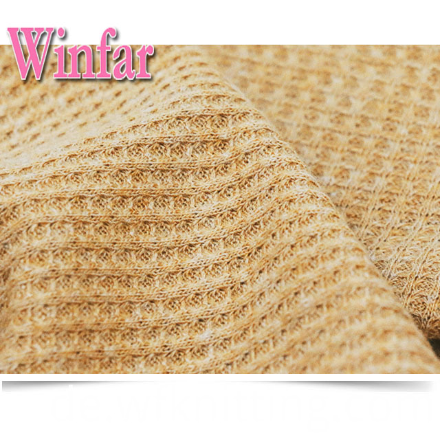 High Quality Waffle Knit Fabric