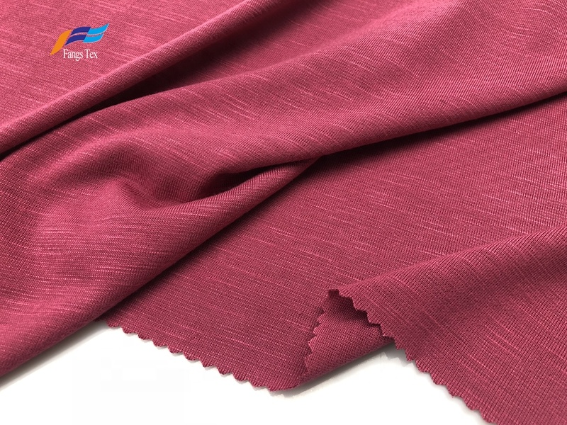 Wholesale T/R Bamboo Polyester Jersey Knitted Fabrics 1