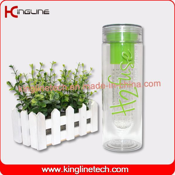 760ml fruit infuser bottle With tube filter inside(KL-7082)