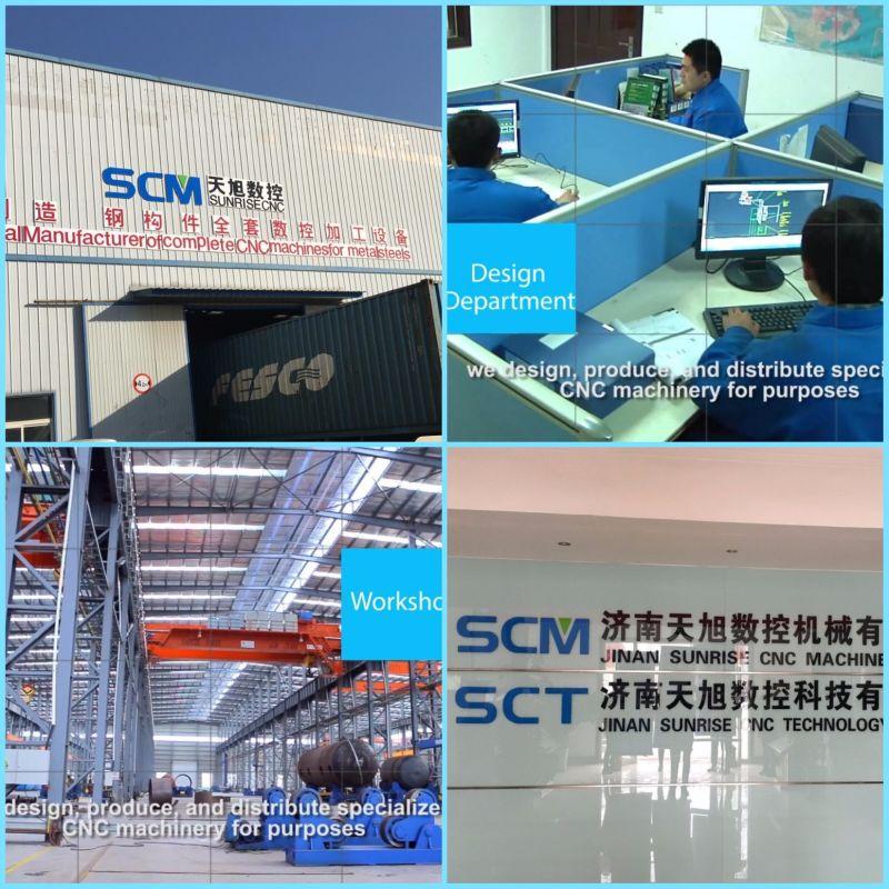 Tphd3020 Hochgeschwindigkeits-CNC-Bohrmaschine für Rohrböden