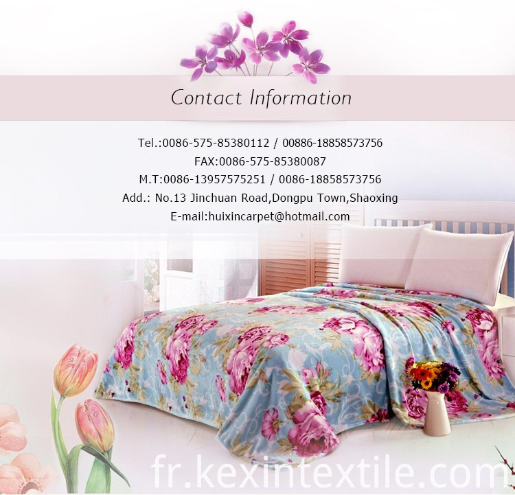 coral fleece blanket bedding set