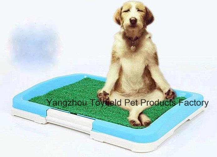 Dog Potty Tray Portable Pet Training Dog Toilet