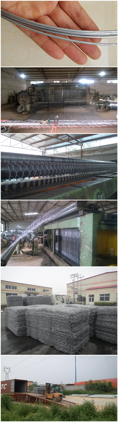 China Best Manufacturer Gabion Retaining Wall System (GRWS)