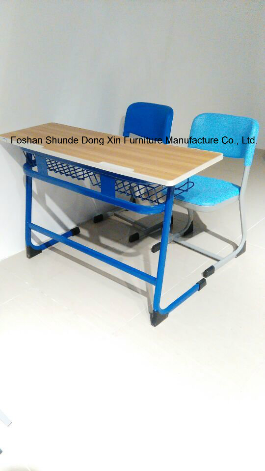 Single Classroom Desk and Chair for Furniture