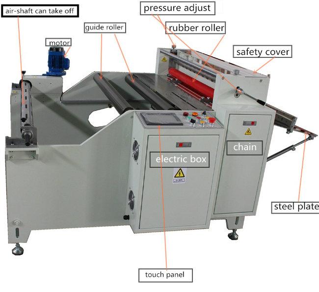 Microcomputer Ce Certificated Plastic Sheet Cutting Machine