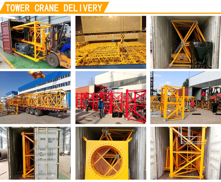 Tower crane delivery