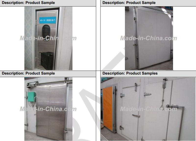 China Factory Price Cold Room Sliding Door