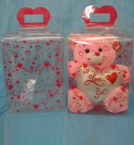 Sweet candy birthday gift PET packaging with printing (gift box)
