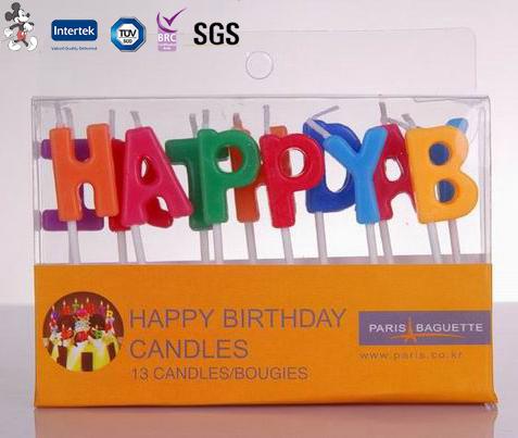China Professional Produce Elegant Design Manufacture Wax Colour Candle