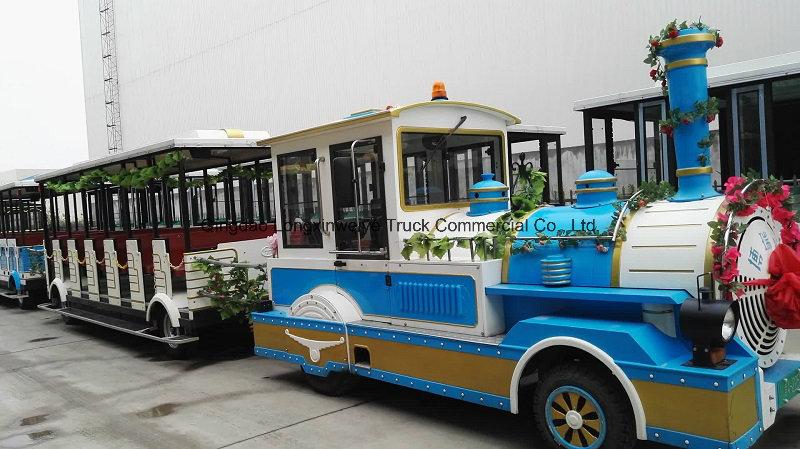 China 20-80seats Diesel Tourist Train in Tourist Area