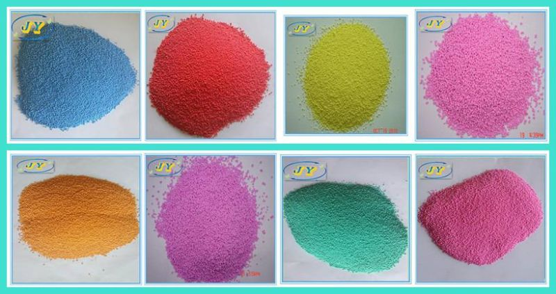 Colored Speckles for Laundry Powder