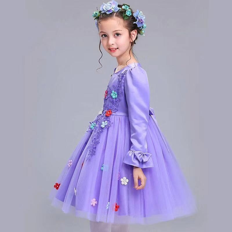 Stain Flower Wedding Dress