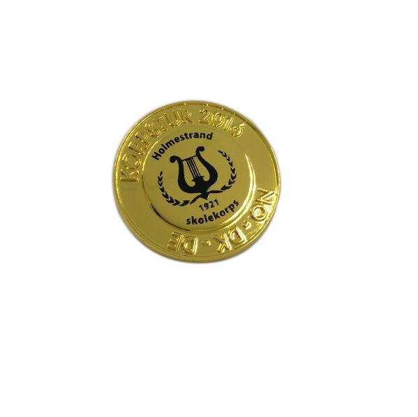 Souvenir Item Custom Metal Company Logo Pin Badge