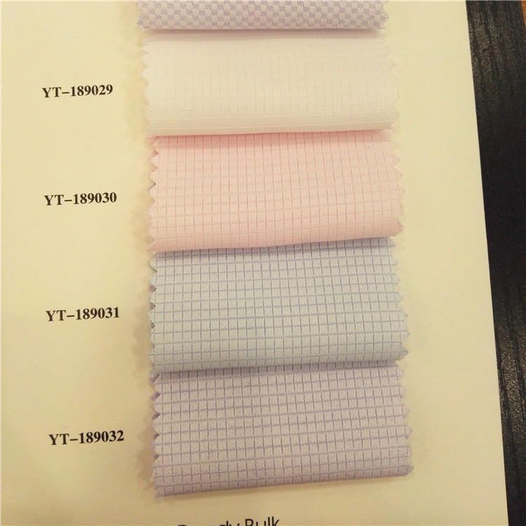 newest men's shirt fabric stock in Japan with low moq and quick delivery