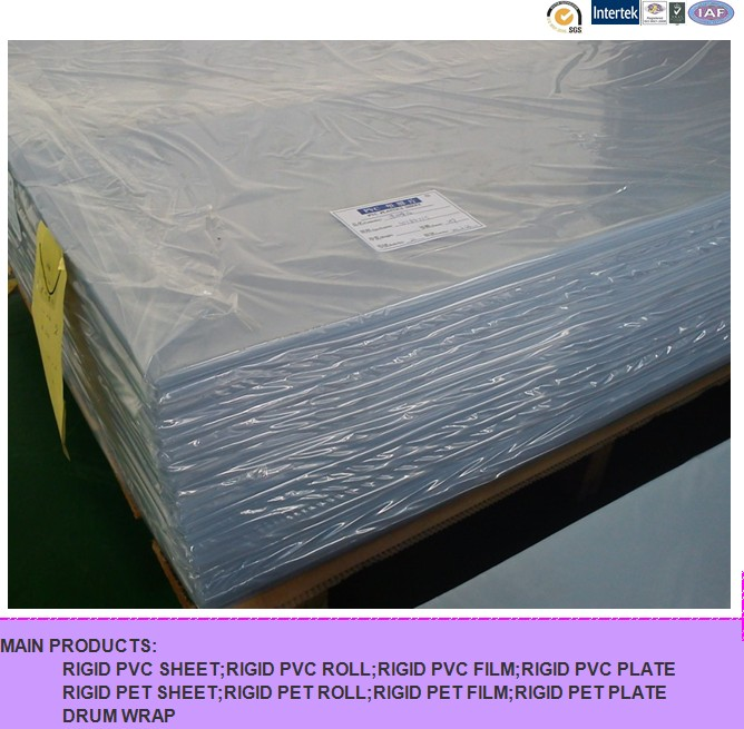 PVC Clear Film for Printing