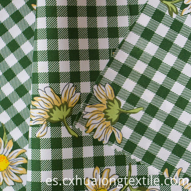 100% polyester mini matt printed fabric