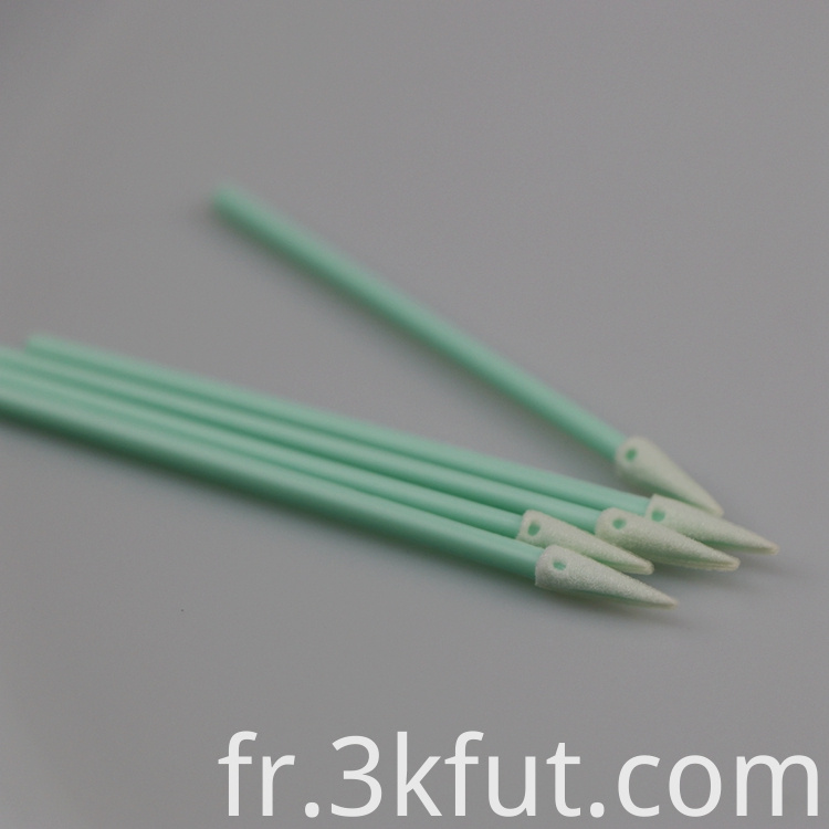 fiber optic cleaning foam swab