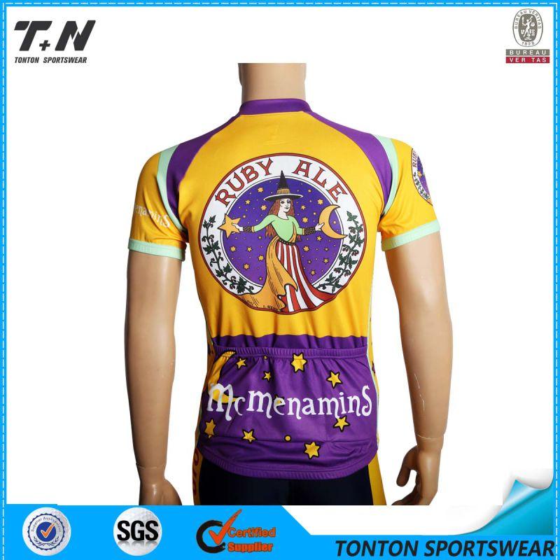 2015 Wholesale China Custom Cycling Jersey Manufacturer