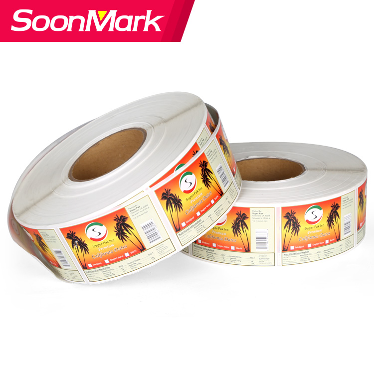 waterproof PVC label printing