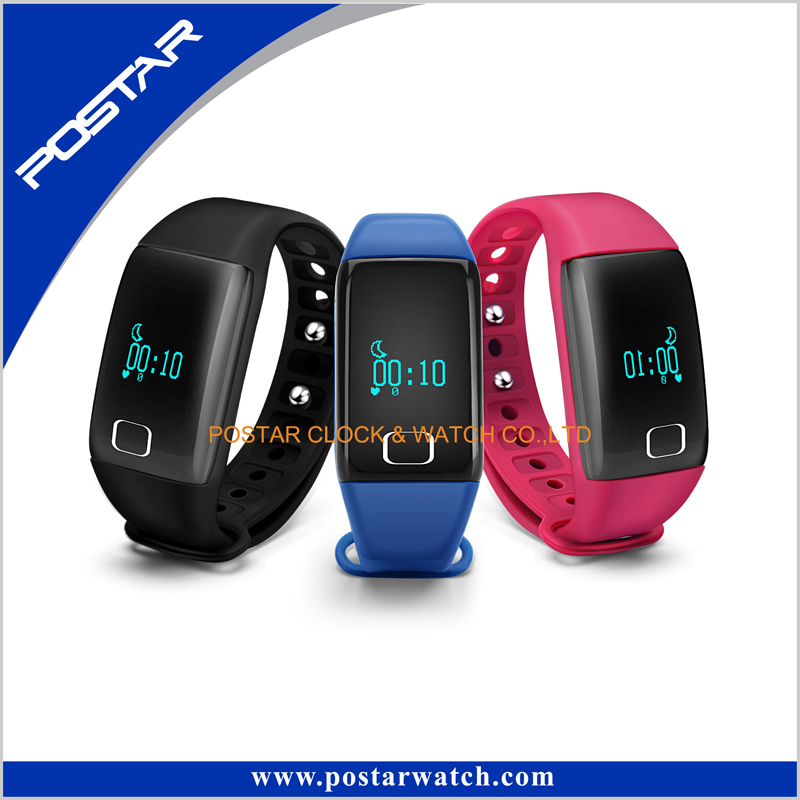 Human Smart Bracelet Health Care Smart Assiatant Watch with Candy Color