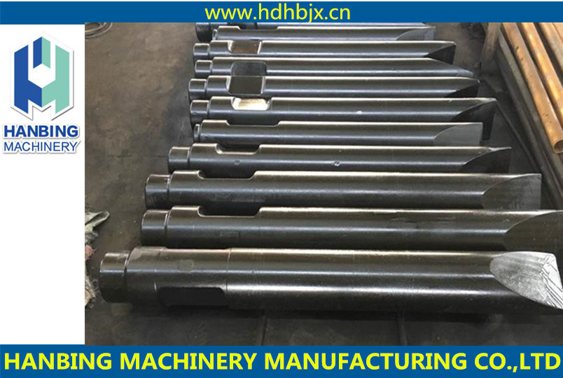 Machinery Hydraulic Excavator Hammer Chisels