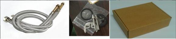 Single Handle Brass Basin Faucet Mixer