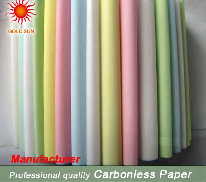 Carbonless Paper for Computer Typing Machine