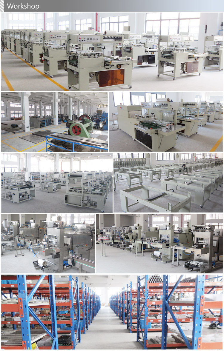 Automatic Glass Bottle Thermal Contraction Package Machine