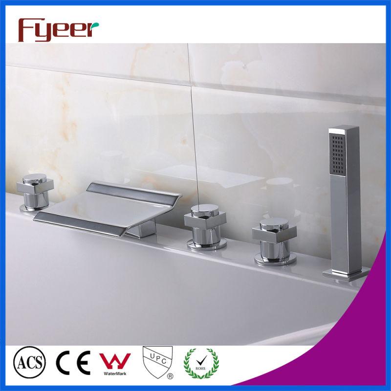 Fyeer 3002 Series Waterfall Basin Faucet Bathtub Mixer