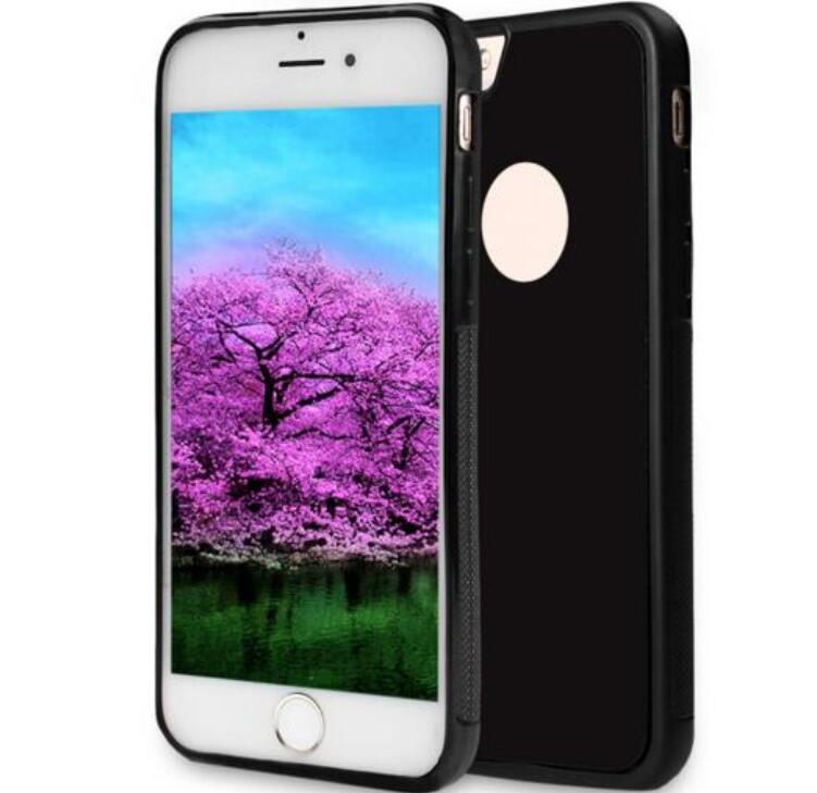 Self Sticky Case, Anti-Gravity Nano-Suction Technology Hands-Free Selfie Shockproof Case for Apple iPhone 7/6/6s