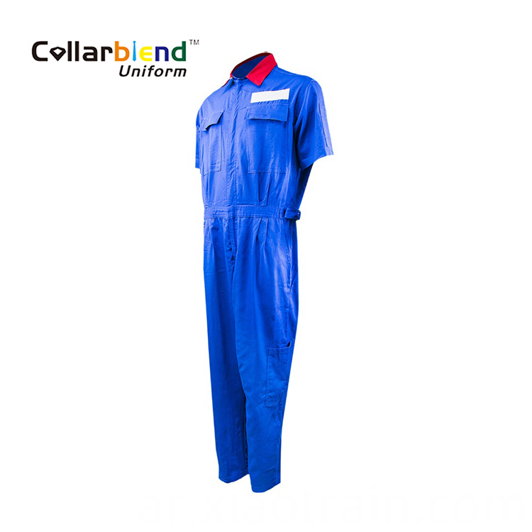 Short Sleeve Industrial Coverall