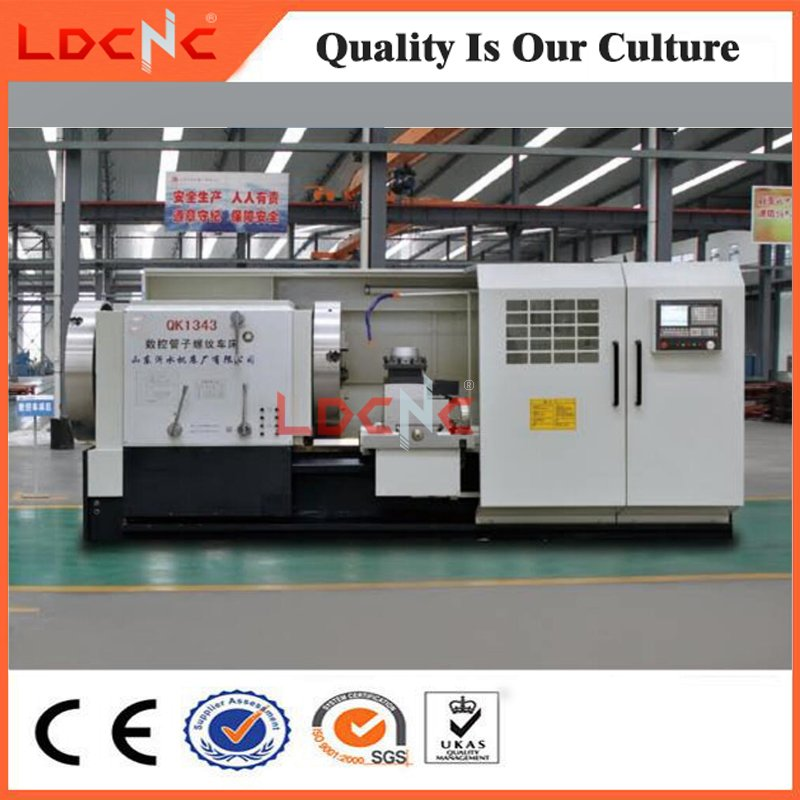 Chinese High Precision Horizontal Pipe Thread CNC Lathe Machine Price