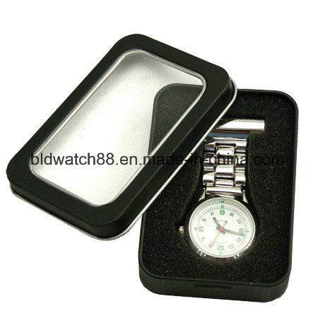 New Fashion Nurses Quartz Silicone Fob Watch with Calendar