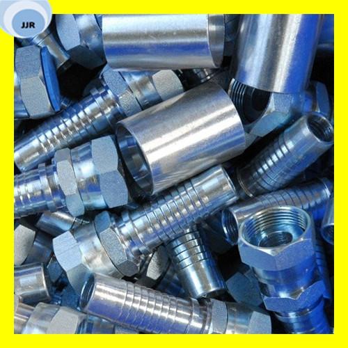 Carbon Steel Hydraulic Hose Ferrule Fittings for Hydraulic Assembly