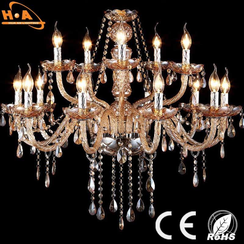 Vintage Hotel Living Room Decorative Crystal Chandelier Lighting