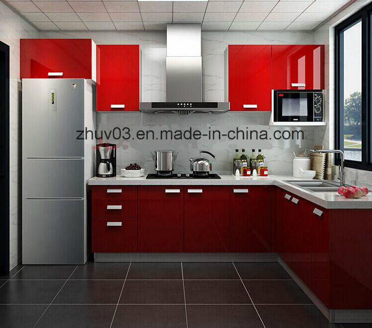 2016 Zh Wooden Kitchen Cabinets (ZH)