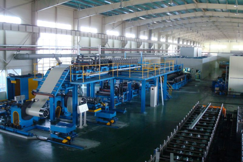 on Promotion PU Formed Sectional Sandwich Panel Production Making Machine Line