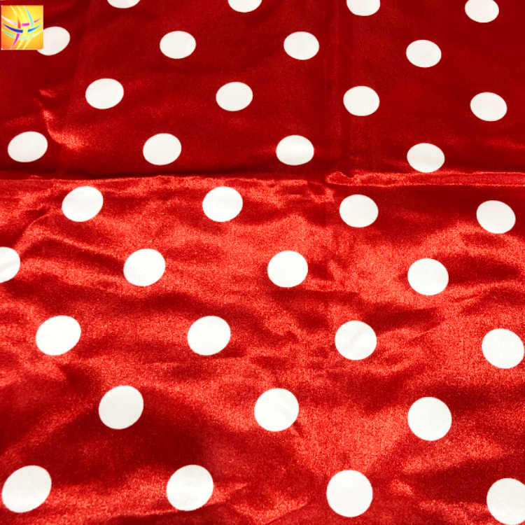 100D Polyester Printed Fabric