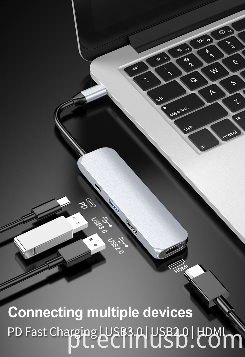 Usb Hub 2.0 with HDMI