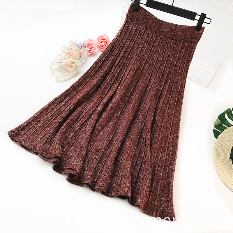 Stretch Knitted Skirt