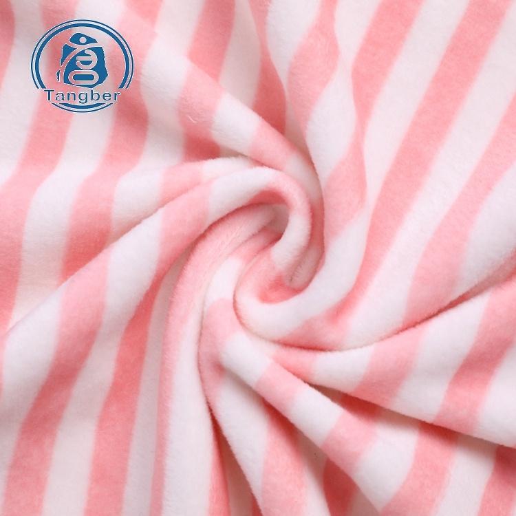 Super soft velvet fabric