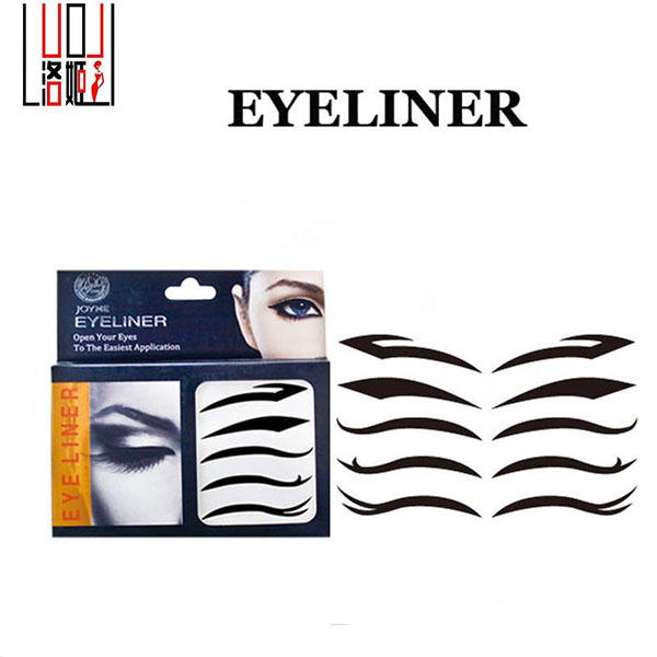 New Type Environmental Face Stickers Fashion Eye Removable Sticker