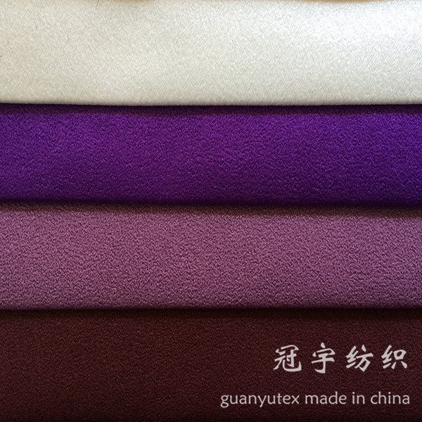 Suede Leather Fabric 100% Polyester for Home Textile Furnitures